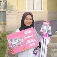 Ratna, Penjual Telur Gulung Asal Lampung Menang Rumah Milyaran