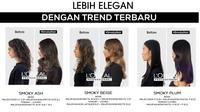 Rangkaian shade smoky hair. (dok. L'Oreal Indonesia)