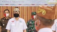 Bupati Kapuas, Ir Ben Brahim S Bahat melantik Dewan Pengurus Asosiasi Petani Kelapa Sawit Indonesia