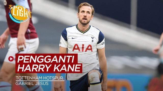 Berita video spotlight kali ini membahas tentang empat pemain yang bisa gantikan Harry Kane di Tottenham Hotspur.