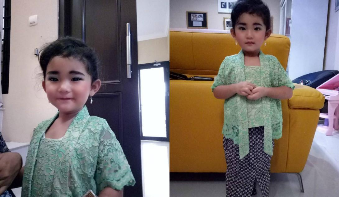 Anak Ayu Ting Ting, Bilqis Khumairah Razak sambut Hari Kartini [foto: www.instagram.com/mom_ayting92_]