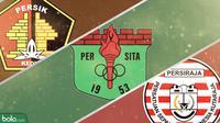 3 klub promosi di Liga 1: Persik Kediri, Persita Tangerang & Persiraja. (Bola.com/Dody Iryawan)