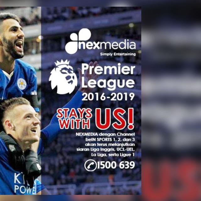 Nexmedia Manjakan Penonton Liga Inggris Hingga 2019 Bola Liputan6 Com