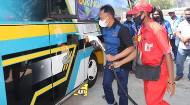 Pertamina membangun infrastruktur Pengisian Bahan Bakar berupa Pertashop di dua titik Kota dan Kabupaten Jayapura guna mensukseskan penyelenggaraan Pekan Olahraga Nasional (PON) XX Papua.