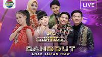 Konser Dangdut Anak Jaman Now menutup rangkaian Konser Luar Biasa Indosiar yang dimulai sejak Selasa, 2 Januari 2018 lalu.