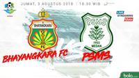Liga 1 2018 Bhayangkara FC Vs PSMS Medan (Bola.com/Adreanus Titus)