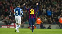 Messi Pecahkan Rekor Derby Catalan (AFP)