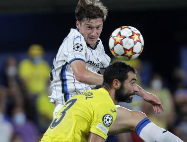 Foto: Villarreal Ditahan Imbang 2-2 Atalanta dalam Matchday Pertama Liga Champions 2021 / 2022