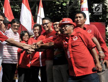 Deklarasi Relawan Bara Baja Dukung Jokowi-Ma'ruf Amin