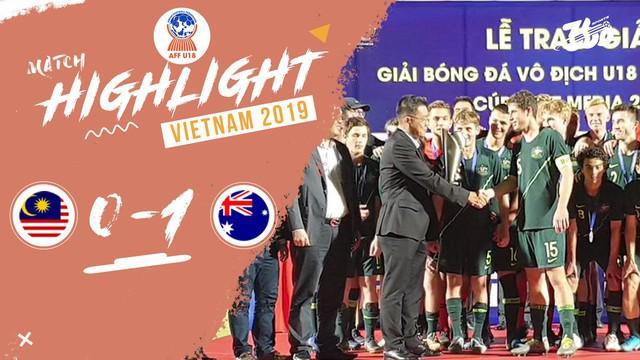Berita Video Kalahkan Malaysia di Final dengan skor tipis 1-0, Australia Juara Piala AFF U-18 2019