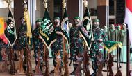 Kasad Jenderal TNI Andika Perkasa memimpin Sertijab jajaran TNI AD di Lantai Dasar Gedung E Markas Besar TNI Angkatan Darat, (6/8/2020). (foto: dokumentasi Dispenad)