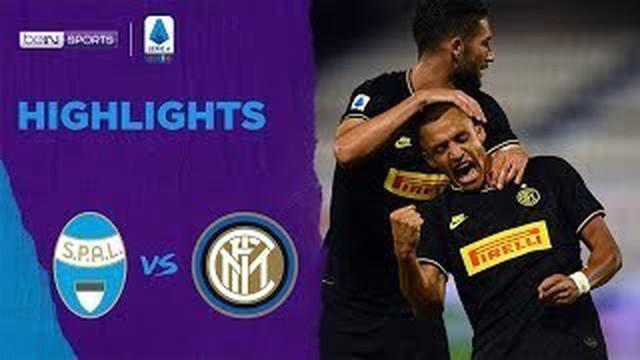Berita Video Ancam Posisi Juventus Dipuncak Klasemen Serie A, Inter Milan Naik Peringkat Kedua Setelah Kalahkan SPAL
