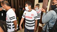 Penanganan tindak pidana perdagangan orang yang telah mengakibatkan meninggalnya Warga Negara Indonesia (WNI) telah sampai dengan penetapan tersangka. (Foto: Liputan6.com/Ajang Nurdin)