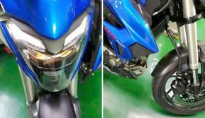 Haojue yang merupakan pabrikan motor Suzuki di Cina, diketahui sedang mempersiapkan motor baru yang bakal dinamai HJ300. (Rushlane)
