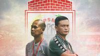 PSM Makassar - Yeyen Tumena dan Kurniawan Dwi Yulianto (Bola.com/Adreanus Titus)