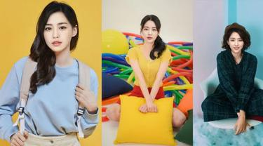 Dain, Yeoreum, Yejin dari grup AI Eternity. (Pulse9 via Koreaboo)