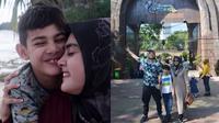 Momen Kebersamaan Biby Alraen Istri Rifky Balweel dengan Anak Sambungnya. (Sumber: Instagram.com/bibyalraen13)