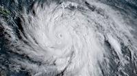 Badai Maria pada Selasa 19 September 2017 waktu setempat. (BBC/NASA)
