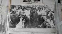 Repro foto Panglima Jenderal Besar Soedirman perang gerilya tujuh bulan. (Foto: Liputan6.com/Muhamad Ridlo)