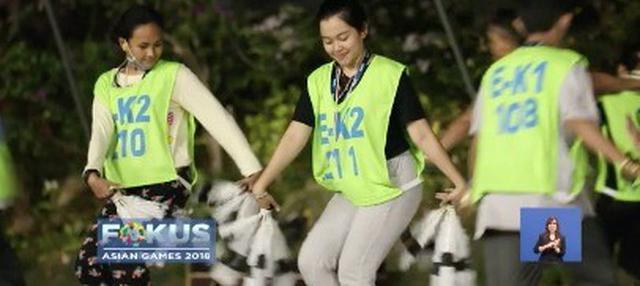 Di bawah arahan koreografer senior, Denny Malik, ribuan penari siap gunjang upacara pembukaan Asian Games 2018.