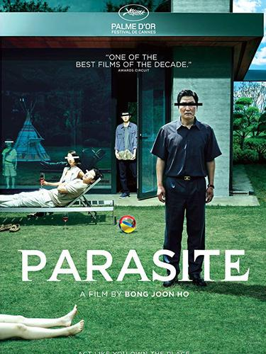 Poster film Parasite. (Foto: IMDb/ Barunson E&A)