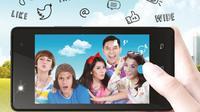 Foto Selfie rame-rame makin seru dan praktis dengan applikasi Wide Angle