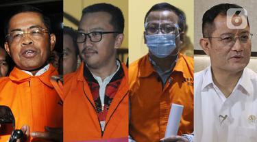 Berikut deretan menteri di era pemerintahan Presiden Joko Widodo (Jokowi) yang pernah tersandung kasus korupsi hingga ditetapkan tersangka oleh KPK.