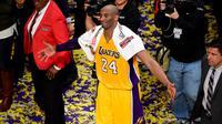 Selama 20 tahun berkarier didunia atlet, tentu saja Kobe Bryant sudah mengalami pahit-manis ketika menjalani tiap pertandingan melawan klub basket dunia lainnya. (AFP/Bintang.com)