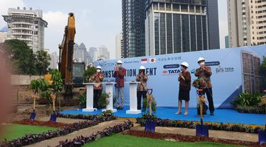 Perusahaan Jepang Toda Corporation dan PT Ciputra Adibuana memulai proyek The Newton 2 di Jakarta.