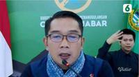 Gubernur Jawa Barat Ridwan Kamil mendapat apresiasi dari warganet terkait disediakannya juru bahasa isyarat untuk teman tuli. (Liputan6.com)