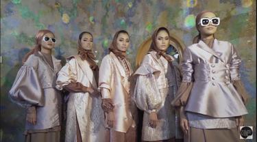 Sederet Koleksi Modest Wear Warnai Pembukaan Virtual Malang Fashion Week  2020