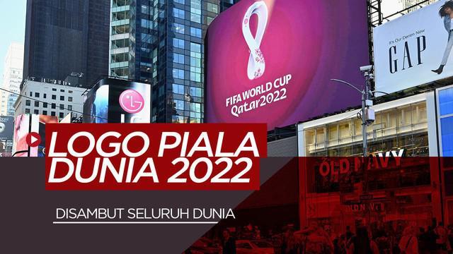 Berita Video Melihat Launching Logo Resmi Piala Dunia 2022 di Berbagai Belahan Dunia