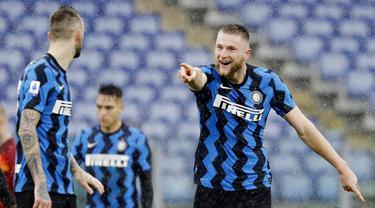 FOTO: Ditahan Imbang AS Roma, Inter Milan Semakin Berjarak dengan AC Milan