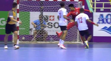 Berita video highlights bola tangan putra Asian Games 2018, Hong Kong vs Indonesia, yang berakhir dengan skor 40-17.