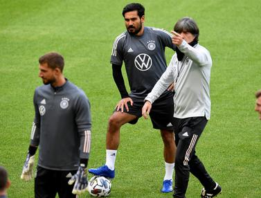 Timnas Jerman Jalani Latihan Jelang Hadapi Spanyol di UEFA Nations League