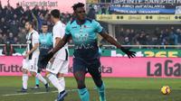 2. Duvan Zapata (Atalanta) - 22 Gol (1 Penalti). (AP/Paolo Magni)
