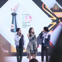 Aliando Syarief Perkenalkan Film Asal Kau Bahagia di Festival Film Bandung