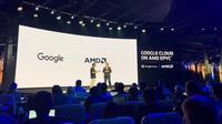 Google Akan Gunakan Chipset AMD Epyc untuk Pusat Data. Kredit: Akun Twitter Resmi AMD