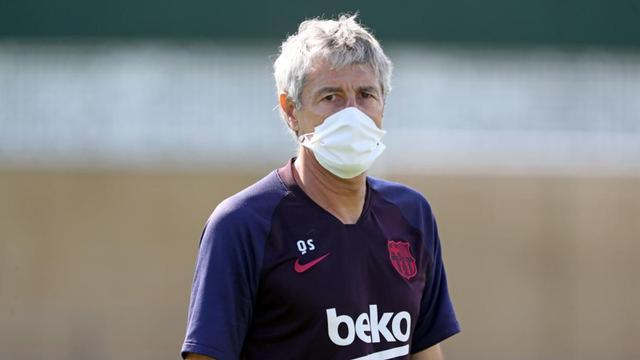 Barcelona latihan