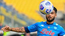 Kontrak Lorenzo Insigne bersama Napoli berakhir pada Juni 2022. Saat ini dirinya tercatat memiliki nilai banderol sebesar 48 juta euro. (Foto: AFP/Alberto Pizzoli)