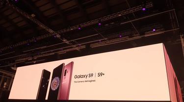 Samsung Galaxy S9 dan Galaxy S9 Plus. Liputan6.com/Agustin Setyo W