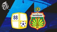 BRI Liga 1 - Barito Putera Vs Bhayangkara FC (Bola.com/Adreanus Titus)