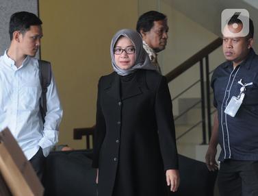 Diperiksa KPK, Eni Saragih Jadi Saksi Kasus Samin Tan