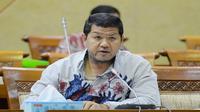 Roberth saat raker di Ruang Rapat Komisi IX, Gedung DPR RI, Senayan, Jakarta, Kamis (24/5/2018).