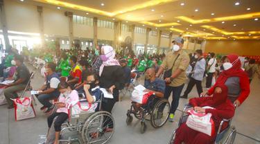 Jokowi Apresiasi Grab Vaccine Center Yogyakarta yang Ramah Penyandang Disabilitas