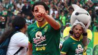 Gelandang asing Persebaya Surabaya, Mahmoud Eid. (Bola.com/Aditya Wany)