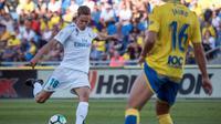 Gelandang Marcos Llorente baru bermain dalam 19 pertandingan Real Madrid di berbagai ajang pada musim ini. (AFP/Desiree Martin)