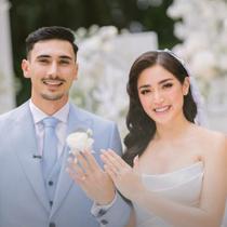 Cincin pernikahan Jessica Iskandar dan Vincent Verhaag (dok.instagram/@inijedar/https://www.instagram.com/p/CVVT85mPtUM/Komarudin)