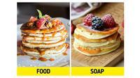 Potret Sabun Mirip dengan Makanan. (Sumber: Brightside)