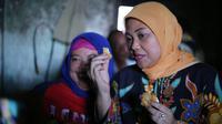 Calon Wakil Gubernur Jawa Tengah Ida Fauziah mengunjungi pengrajin tahu di Sragen (Dok. Tim Media Ida Fauziah)